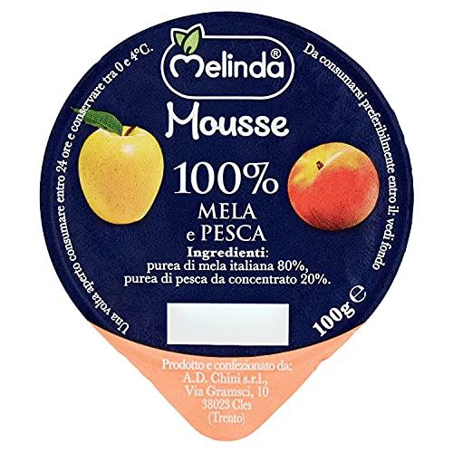 Melinda Mousse di Mele e Pesche, Multicolore