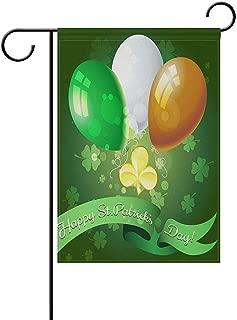 Johnnie Decorative Saint Patricks Day Double Sided Garden Flag 12