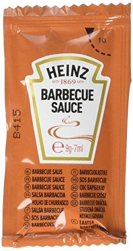 Heinz Salsa Barbecue Sachet - Confezione da 250 Pezzi