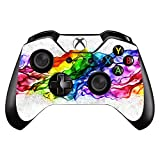 Wodoys Vinyl Stickers Skins Fit for Microsoft Xbox One/Slim/X Controllers Suit Whole Body, Rainbow Band