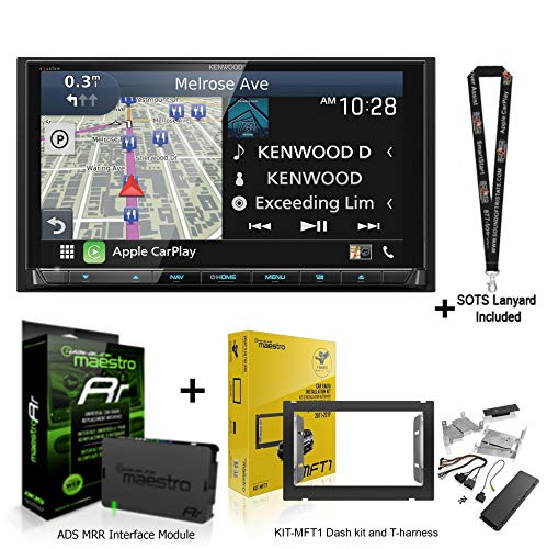 Learn More About Kenwood Excelon DNX996XR Navigation Receiver w/ADS Dashkit KIT-MFT1 Maestro Interfa...