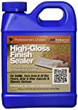 Miracle Sealants HGFS6QT High Gloss Finish Sealer Color & Gloss Enhancers, Quart, Clear