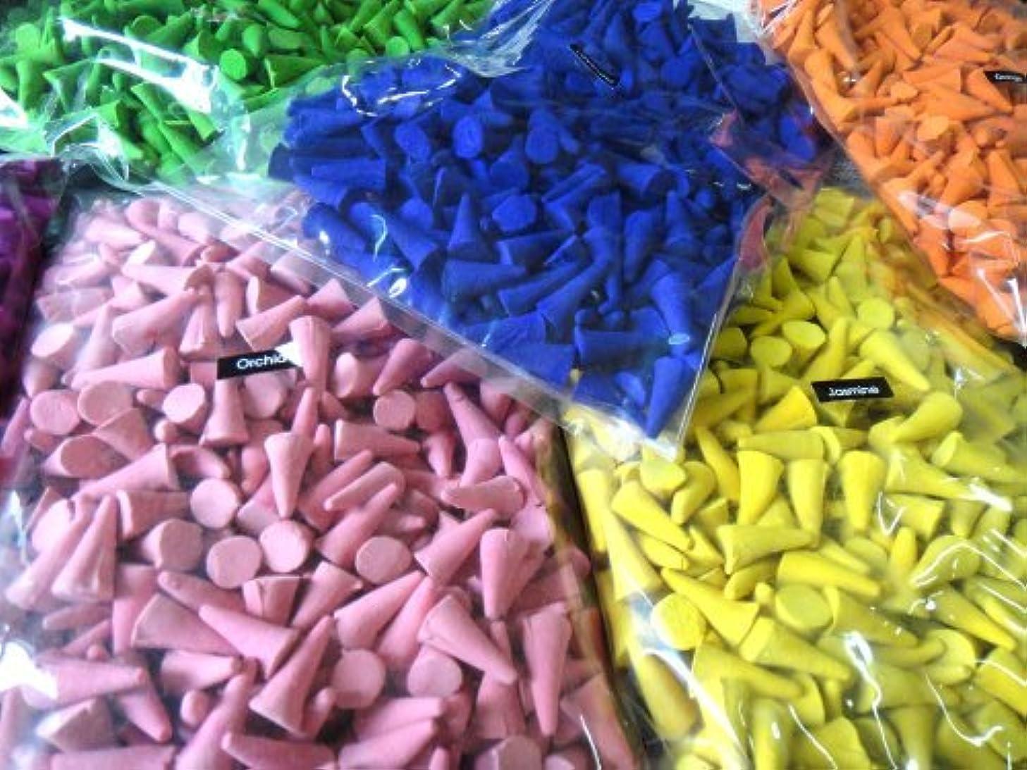 ハーブ氏進化するIncense Conesミックスのさまざまな香り(パックof 100?Cones ) ThaiEnjoy製品