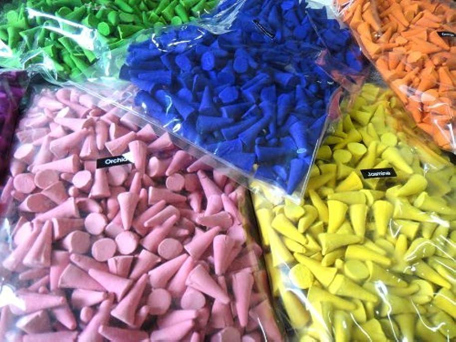 粒アート五月Incense Conesミックスのさまざまな香り(パックof 100?Cones ) ThaiEnjoy製品