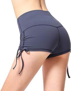 TimesBeauty Womens Shorts Pants Sports Workout Athletic Running Yoga Exercise Tummy Control Activewaer