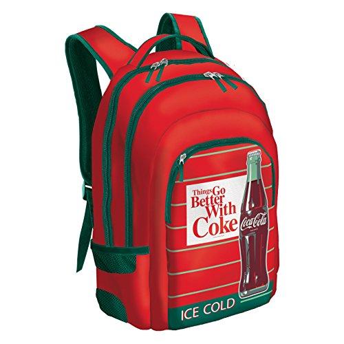 Dohe 50283 Coca Cola Mochila Escolar, 46 cm, Multicolor