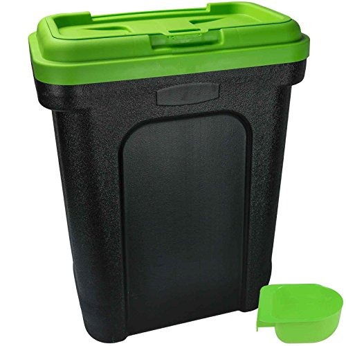 New Large 30 Litre Pet Storage Food Container Dry Food Dog Cat Animal...
