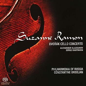 Suzanne Ramon Plays Dvorak Cello Concerto, Glazunov, Kaufmann