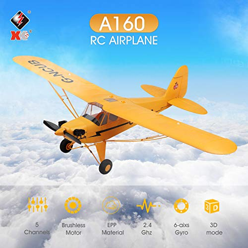 Kedelak A160 RC Plane 5 Kanal bürstenloses ferngesteuertes gzeug für Erwachsene Stunt Flying 3D 6G-Modus Upside Down RC Aircraft