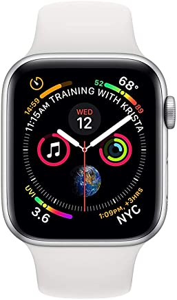 Apple Watch Series 4 (GPS + Cellular, 44mm) - Silver Aluminium Case with