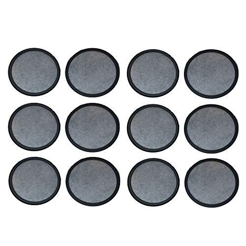 Think Crucial 12 Replacements for Mr. Coffee Charcoal Water Filters Fit WFF-3 Coffee Makers, Compatible with Part # 113035-001-000
