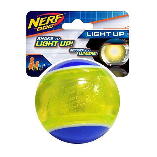 Nerf Dog Nerf Dog LED Blaze Tennis Ball, 3,25 pollici