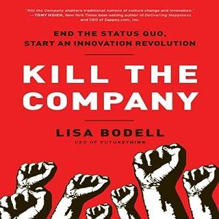 Kill the Company audiobook cover art