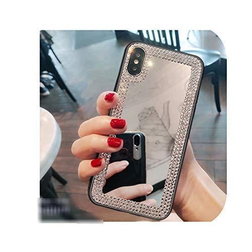 Carcasa para Samsung J710, con brillantes brillantes para Samsung J4 J6 Prime J8 A8 A5 A6 Plus A7 2018 A750 J5 J7 2016 J510 J710-Silver-for J5 2016 J510 J510 J510 J510