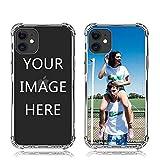 AnNengJing ANG Personalisierte Handyhülle für iPhone 11 6.1',Transparent Soft TPU Schutzhülle mit Foto, Bildern oder Text Selbst Gestalten-ONLY for iPhone 11 6.1 in