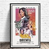 ZzSTX Jackie Brown Film Leinwand Poster Quentin Tarantino