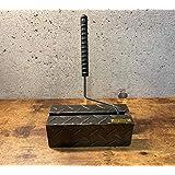 コロコロスタンド ローラースタンド 縞板素材 重厚感 アンティークテイスト 日本製 タナカセイサクショ