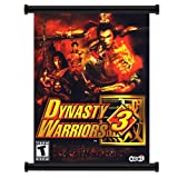 Dynasty Warriors Game Fabric Wall Scroll Poster (16x21) Inches
