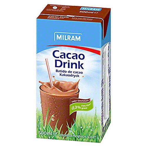 Milram Milschmischgetränk 0,3% Kakao, 20 x 500 ml