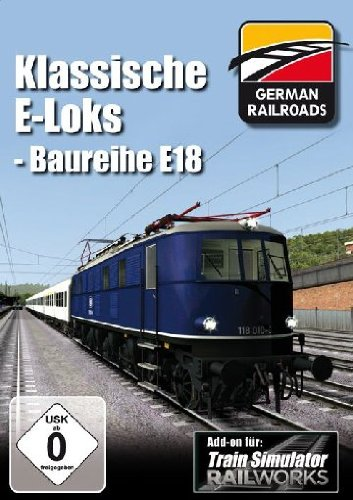 Train Simulator - Railworks: Klassische E-Loks Baureihe E-18 (Add-On)