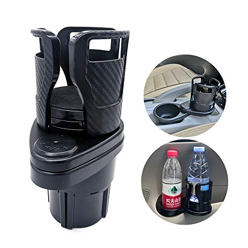 UMISKY Car Drink Holder, Multifunction 2-in-1 Car Drink Holder, Cup Holder, Expander Holder for Drinking Bottles, 17-20 Ounces, Coffee Cup up to 5.9 Inches
