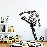 Mobile jeu football papier peint décoration familiale garçon mur autocollant chambre décalque papier peint enfants chambre affiche |sticker mural 43cm X 50cm