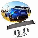 MCARCAR KIT Trunk Spoiler fits Subaru BRZ 2013-2018 Toyota GT86 2012-2017 Racing Rear Wing Spoiler GT Power
