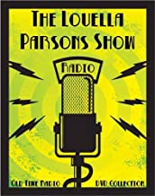 3 Classic The Louella Parsons Show Old Time Radio Broadcasts on DVD (over 60 Minutes running time)