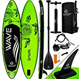 KESSER® Aufblasbare SUP Board Set Stand Up Paddle Board | 320x76x15cm 10.6' | Premium Surfboard...