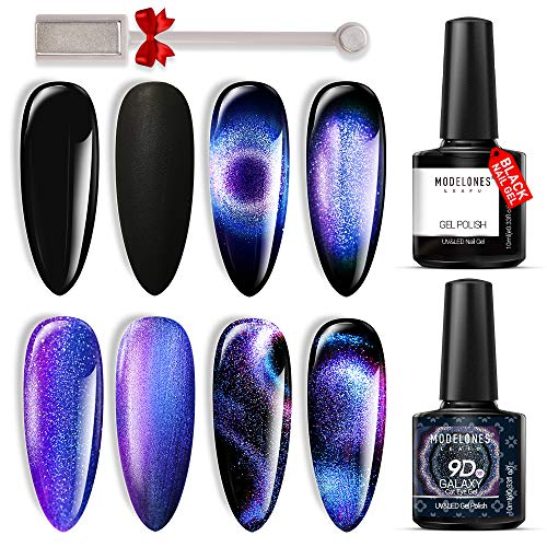 Black gel nails, black gel nail polish, black gel polish