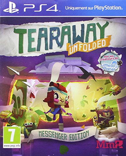 Tearaway - édition messenger PS4