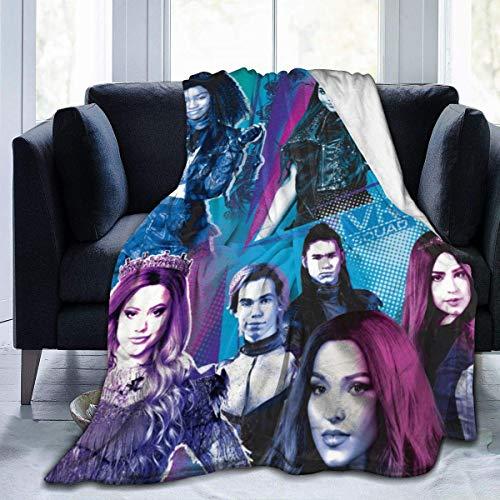 shenguang Coperta in Pile Coperta in Pile Coperta in Pile Descendants 3 Blanket Digital Printed Ultra-Soft Micro Blanket Plush Bed Couch Blanket 50'x40'