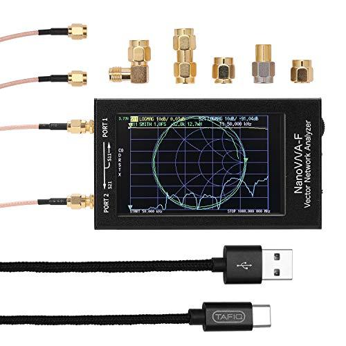 KK moon アンテナアナライザー 50KHz-1000MHz 4.3インチ IPS TFT ベクトルネットワークアナライザ SWRメーター デジタルタッチスクリーン 短波MF HF VHF アンテナアナライザー