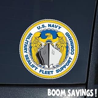 US Navy Military Sealift Fleet Support Command 6
