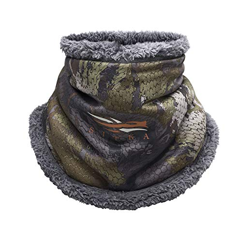SITKA Gear Men's Hunting Neck Gaiter, Timber, One Size Fits All
