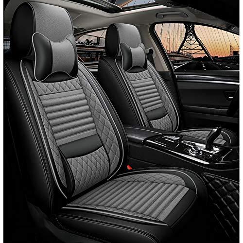 Rzj-njw General de la Cubierta de Asiento de Coche de Alquiler de Honda Civic 2018 Cubiertas de Asiento de Coche para Piezas de automóviles Accesorios de automóviles Cubre Styling,2