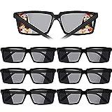 VINFUTUR Gafas Decorativas, 6pcs Gafas Plásticas Espía Gafas Juguetes Glasses Spy Espionaje de Visión Trasera Adornos...