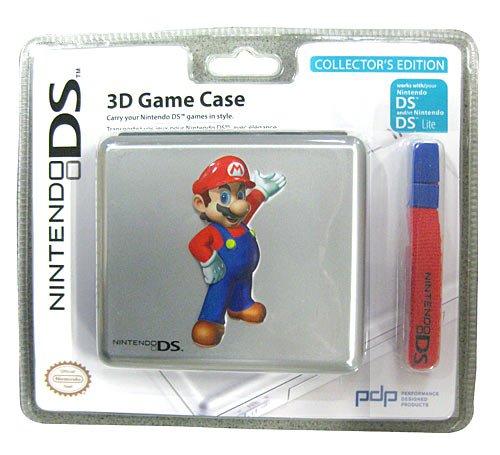 Nintendo DS, DS Lite - 3D Game Case, Mario