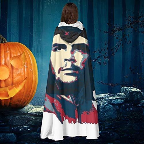 NULLYTG Che Guevara - Disfraz de Bruja con Capucha Unisex para Halloween
