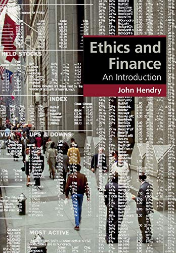 Ethics and Finance: An Introduction (Cambridge Applied Ethics)