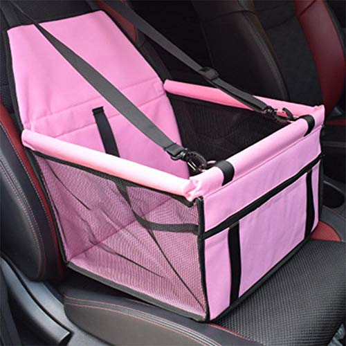 Hundebett Reisehund Autositzbezug Faltbare Hängematte Hundetasche Zum Tragen Von Hund Katze Sicherheit Hund Haustier Träger Reisetasche Upgrade 40X30X