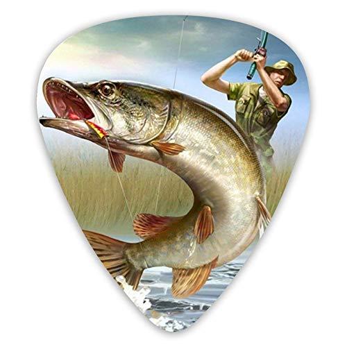 Púas de guitarra de pesca de mosaico, púas de guitarra de...