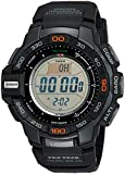 Casio Men's Protrek PRG270-1 Black Resin Quartz Sport Watch