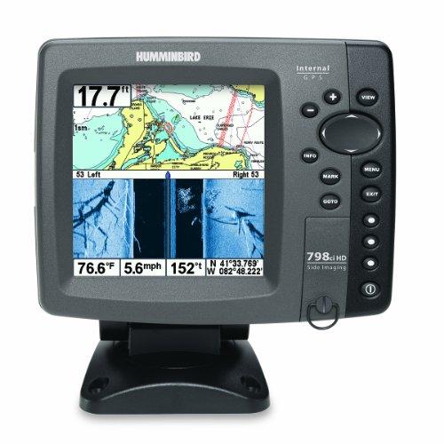 Humminbird 798cxi HD SI Combo - Detector de Peces en Color y Sistema de trazado (tecnología Down y Side Imaging, transductor y Antena GPS Interna)