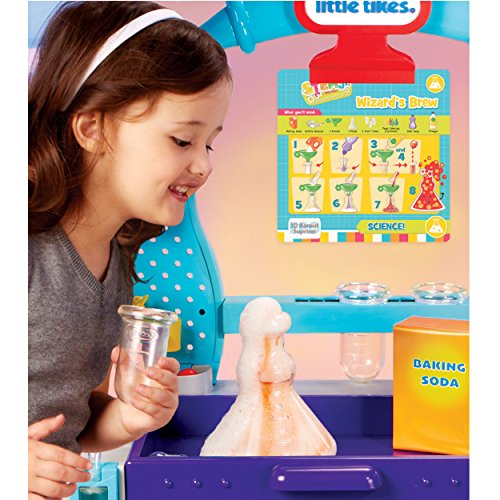 Little Tikes STEM Jr. Wonder Lab Toy with Experiments for kids Multicolor, 28.00 L x 16.00 W x 33.50 H Inches