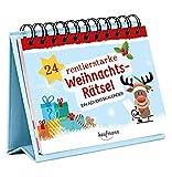 24 rentierstarke Weihnachtsrätsel. Ein Adventskalender (Adventskalender...