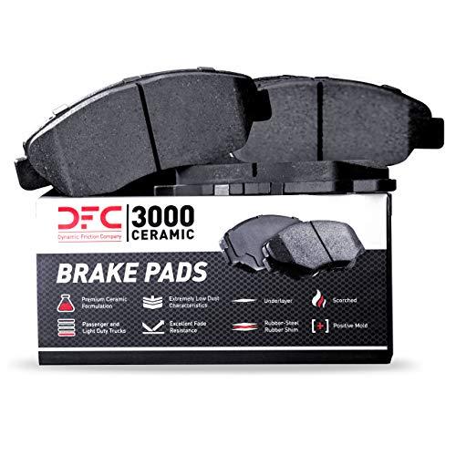 Dynamic Friction Company 3000 Ceramic Brake Pads 1310-2076-00-Front Set