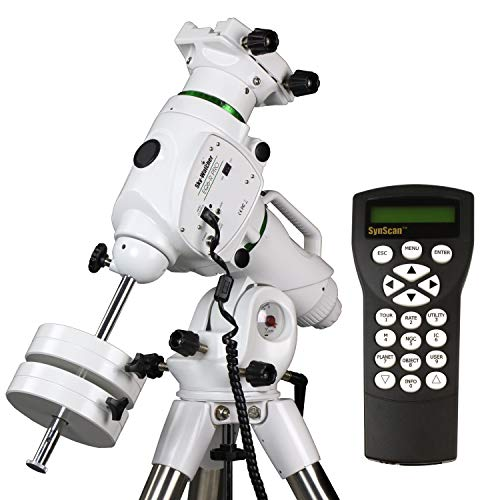 EQ6-R – Fully Computerized GoTo German Equatorial Telescope Mount – Belt-driven, Motorized, Computerized Hand Controller with 42,900+ Celestial Object Database