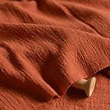 130 cm x 50 cm Dünner einfarbiger Sand Waschbehandlung