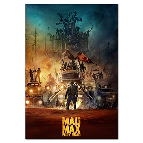 Mad Max Fury Road Movie Poster Prints (18x24)